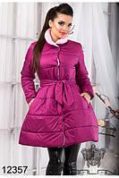 """Пальто женское  с пышной юбкой """"Элизабет"""" размер S.M. L"""