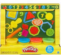 Набор пластилина Play-Doh Учимся считать, 4 баночки 49377