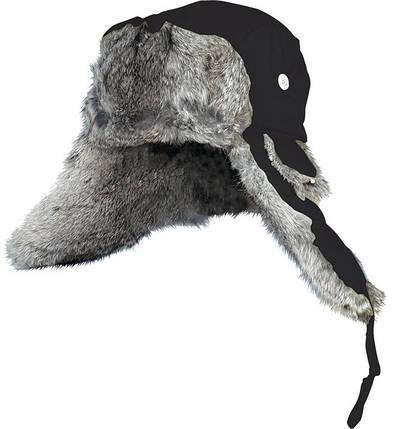 Шапка-ушанка Norfin Ardent 302764/302766, натуральный мех - кролик, завязки, пуговицы, качество, тепло и уют, фото 2
