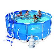 Bestway 56259 (56414) - каркасный бассейн Steel Pro Frame 366х122 см