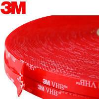 3M™4905 Двусторонняя VHB клеящая лента (скотч) 9мм х 66м, толщ. 0,5мм
