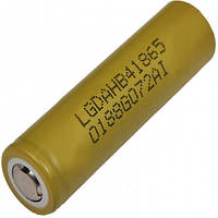 Аккумулятор литиевый LG NMC 18650 HB4 (3.7V, 30A, 1500mAh)