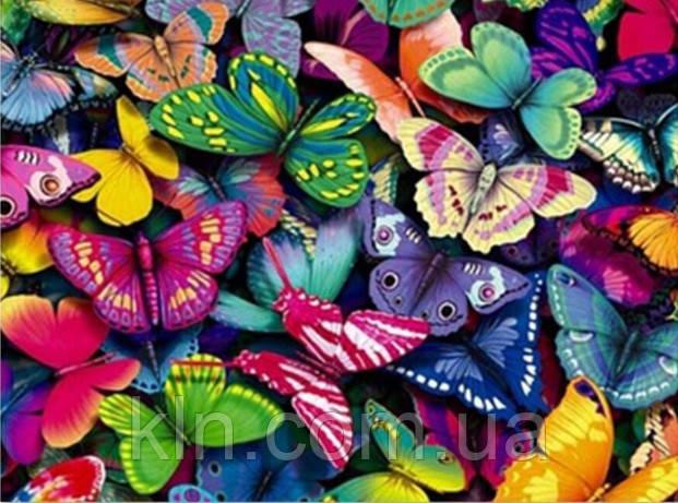 Небо в бабочках 30*40 см