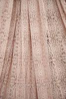 Изящная турецкая Ткань Кружево, бледно-розовый
