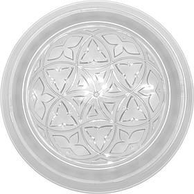 Светильник Ecostrum пластиковый Е27 40W 235 х 80 мм (01-71-02)