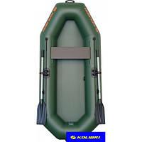 Лодка одноместная надувная гребная Колибри K-210 Лайт