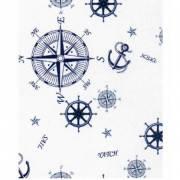 Ткань для штор морская тематика