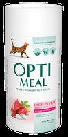 Сухой корм Optimeal (Оптимил) для кошек (ТЕЛЯТИНА) 0.65 кг