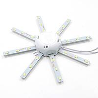 Лампа светодиодная осьминог LED 16Вт SMD5730 6500К