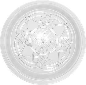Светильник, пластик, белый, Е27, 40W, 235х80мм, IP20, Е-004, (01-71-04) шт.