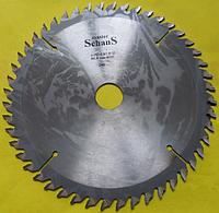 Пильные диски с твердосплавными напайками для продольной распиловки древесины