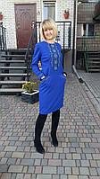 Платье женское с вышивкой СЖ 245-14