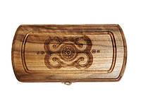 Дорожные Нарды деревянные с элементами ручной резьбы по дереву, 171863