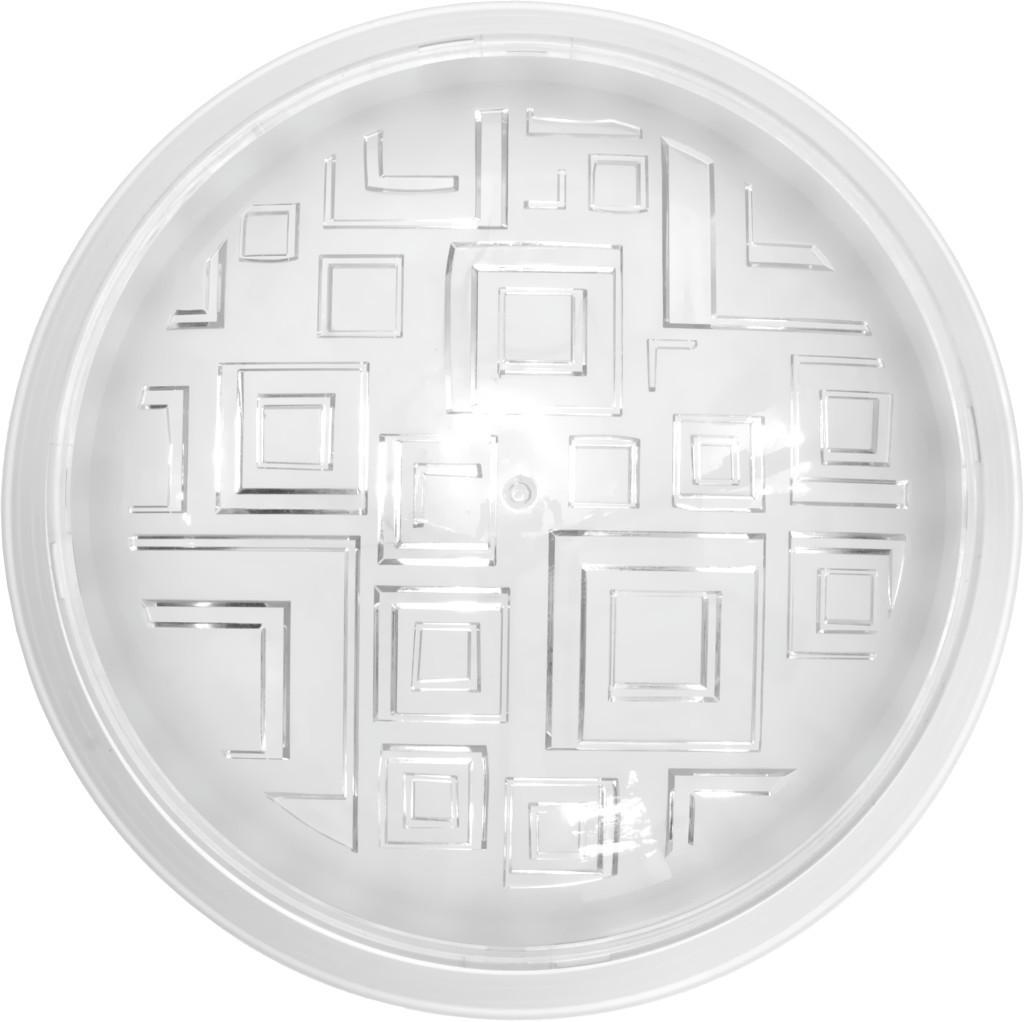 Светильник Ecostrum пластиковый белый Е27 40W 235 х 80 мм (36-12-45)