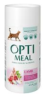 Сухой корм Optimeal (Оптимил) чувствительное пищеварение для кошек (ЯГНЁНОК) 0.65кг