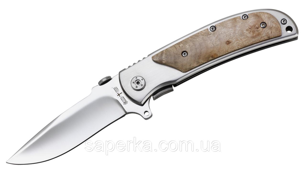 Нож многоцелевой с отверстием для темляка Grand Way 6343