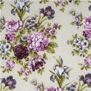 Ткань для штор цветы, прованс