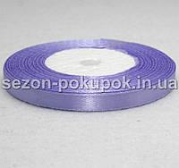Лента атласная ширина 0,6 см. (23 метра)  цвет - фиолетовый