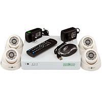 Комплект видео наблюдения Green Vision GV-K-G01/04 720Р