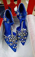 сексуальные туфли, свадебные туфли в камнях