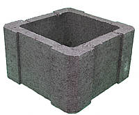 Столбовой элемент для заборного блока