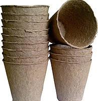 Торфяной стаканчик Jiffy, 60*60мм, круглый