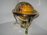 Глобус мраморный диаметром 110мм