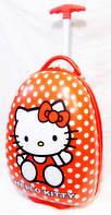 "Детский чемодан на колесах для девочек ""Hello Kitty"""