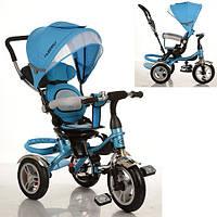 Трехколесный детский велосипед TURBO TRIKE M 3114-5A НАДУВНЫЕ КОЛЕСА - ПОВОРОТНОЕ СИДЕНЬЕ