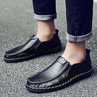 Мужские туфли весна британский стиль обувь ручной работы 3 цвета