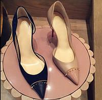 2017 красивые женские туфли шипы 2 цвета, фото 1