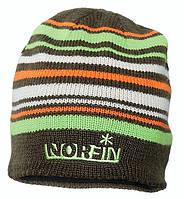 Шапка Norfin Frost 302772-BR, вязаная, 50% акрил + 50% шерсть, подкладка из флиса, современно и тепло