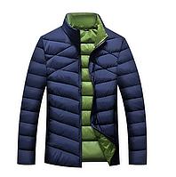 мужская куртка пуховик воротник стойка, фото 1