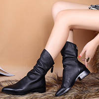 плоские женские ботинки , фото 1