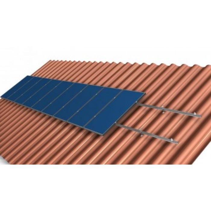 Комплект кріпленя для 4 шт. сонячних батарей - Правильне електроживлення в Львове