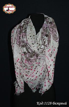 Стильный  лёгкий платок  Мери, фото 2