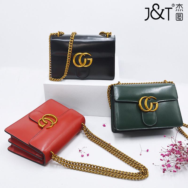 1283356f77b8 J & T женская сумка натуральная кожа моды Джокер 7 цветов: продажа ...