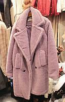 толстый хлопок-мягкая женская шубка пальто , фото 1