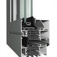 Изготовление окна из алюминиевой системы Reynaers Masterline 8