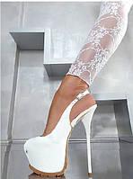 Lorenzi туфли  лакированной кожи высокий каблук женская обувь 16 см, фото 1