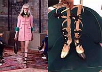 новый элемент формы с бантом натуральная кожа сандалии тренд на подиуме 2 цвета , фото 1