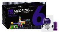 Универсальные иглы Wellion MEDFINE plus для инсулиновых шприц-ручек 6мм (31G x 0,25 мм) (Австрия)