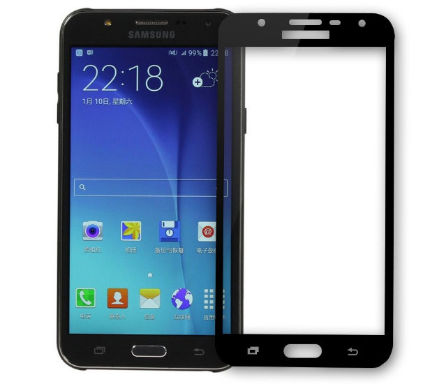 Full Cover защитное стекло для Samsung Galaxy J5 Prime G570 (2016) - Black