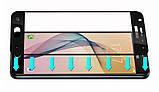 Full Cover защитное стекло для Samsung Galaxy J5 Prime G570 (2016) - Black, фото 2