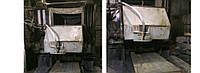 Многопильный станок для порезки гранитных блоков LZS-1200