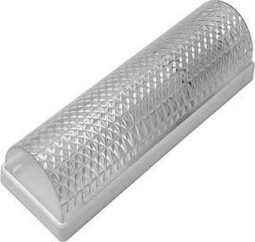 Светильник, пластик, белый, Е27, 20W, 215х71х65мм, IP20, Б-006, (01-71-36) шт.