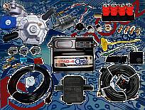Мини-комплект Stag-4 Qbox basic, Редуктор Alaska, Форсунки Valtek, Фильтр