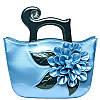 Лакированная сумка большие цветы,яркие цвета 8 расцветок