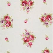 Ткань для штор мелкий цветок, прованс