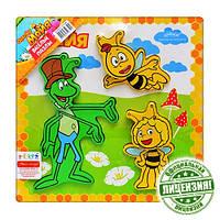 Деревянная игрушка Рамка-вкладыш Пчелка Майя GT 6293